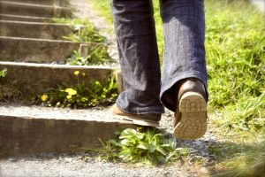 Stepping Out on Faith Alone